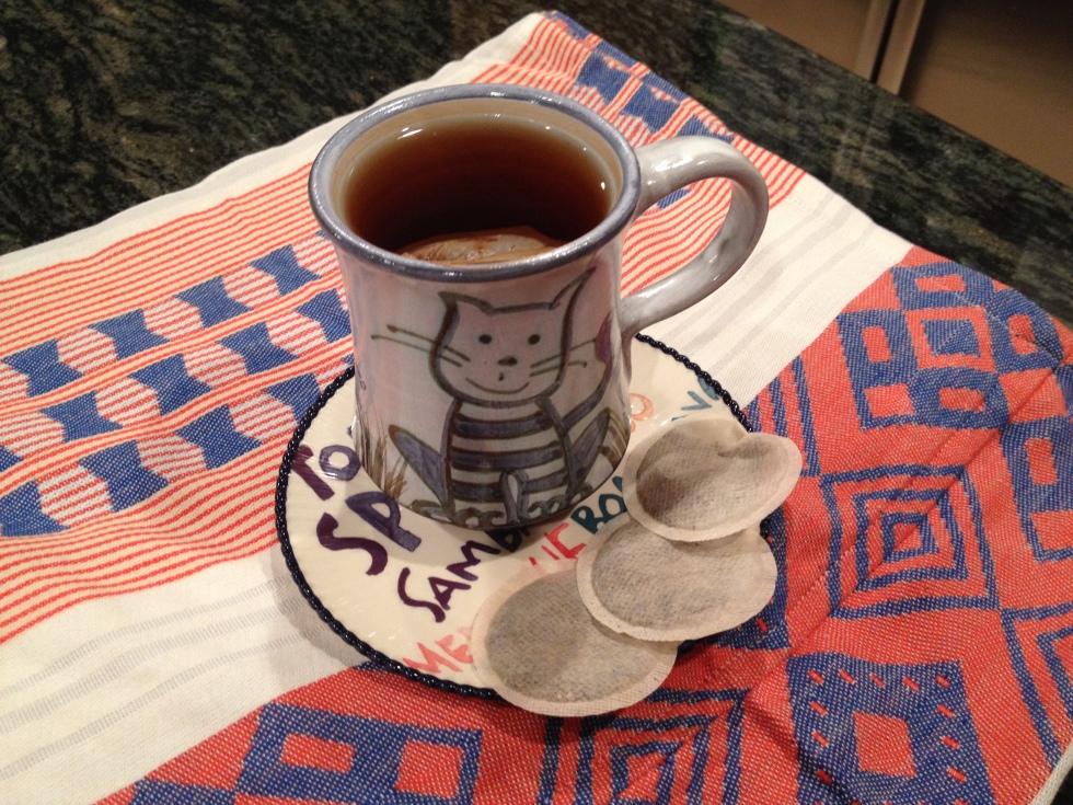 cup of cinnamon orange tea