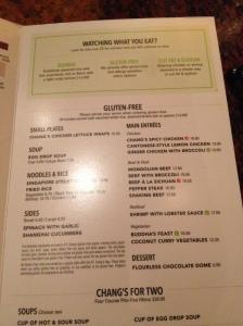pf changs gf menu